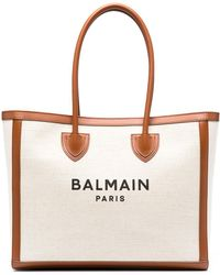 Balmain ロゴ トートバッグ - マルチカラー