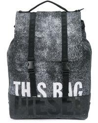 DIESEL Zaino This Bag - Nero