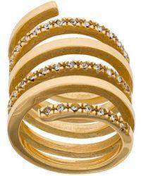 FEDERICA TOSI - Twirl Spiral Ring - Lyst