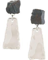 Proenza Schouler - Stone Drop Earrings - Lyst