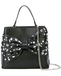 Christian Siriano - Embellished Bow Tote Bag - Lyst