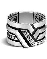 John Hardy Zilveren Ring - Metallic