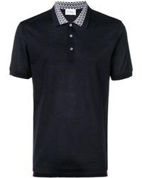 Ferragamo - パターンカラー ポロシャツ - Lyst