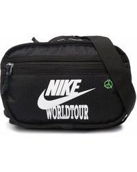 Nike World Tour ロゴ ベルトバッグ - ブラック