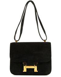 Hermès Borsa a spalla Constance Pre-owned - Nero
