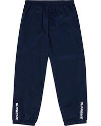 Supreme Warm Up パンツ - ブルー