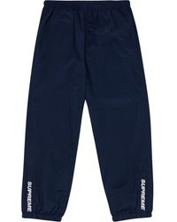 Supreme Warm Up Trousers - Blue