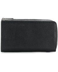 Yohji Yamamoto All Around Zip Wallet - Black