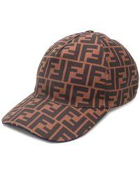 Fendi - Logo Baseball Cap - Lyst 62e2ca8b5421