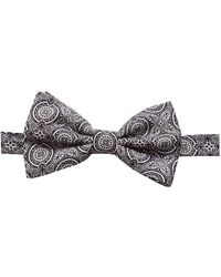 Dolce & Gabbana パターン 蝶ネクタイ - ブラック