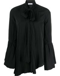 JW Anderson - Tie-neck Bell-sleeves Blouse - Lyst