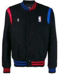 Marcelo Burlon NBA bomber jacket - Noir