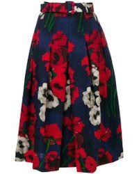 Samantha Sung - Pleated Full Skirt - Lyst