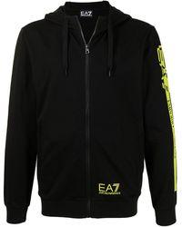 EA7 - ジップアップ パーカー - Lyst
