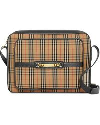 Burberry - The Large 1983 Check Link Camera Bag - Lyst
