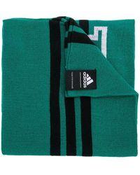 Gosha Rubchinskiy - X Adidas Logo Colour-block Scarf - Lyst