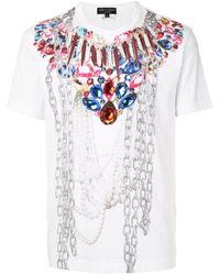 Comme des Garçons プリント Tシャツ - ホワイト