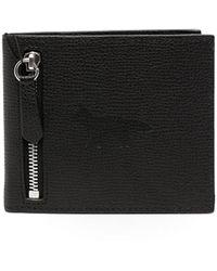 Maison Kitsuné 二つ折り財布 - ブラック