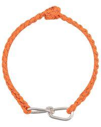 Annelise Michelson Pulsera con detalle de alambre - Naranja