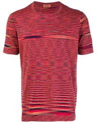 Missoni - T-shirt con girocollo - Lyst