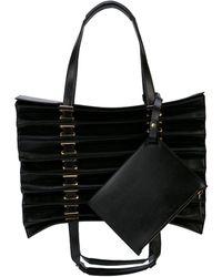 Y. Project Accordion Shoulder Bag - Black