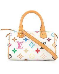 Louis Vuitton Мини-сумка Speedy Pre-owned - Белый