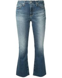 AG Jeans クロップド スキニージーンズ - ブルー