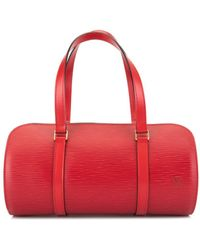 Louis Vuitton Pre-owned Soufflot Handbag - Red