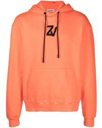 Zadig & Voltaire Storm Hoodie mit Foto-Print - Orange