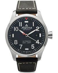 Alpina Наручные Часы Startimer Pilot Automatic 44 Мм - Синий