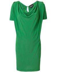 Just Cavalli - Scoop Neck Dress - Lyst