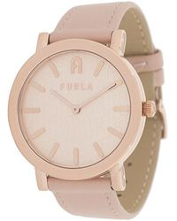 Furla Minimal Shape 38mm Watch - Pink