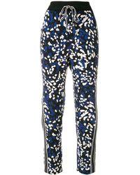 3.1 Phillip Lim Printed Drawstring Trousers - Черный