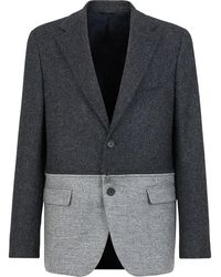 Fendi ツイード ジャケット - グレー