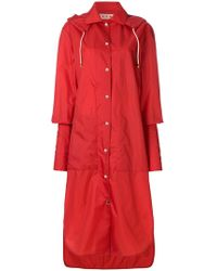Marni - Extended Cuff Raincoat - Lyst