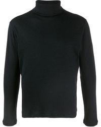 Majestic Filatures タートルネック セーター - ブラック