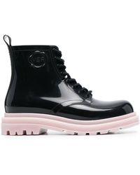 Viktor & Rolf High-shine Ankle Boots - Black