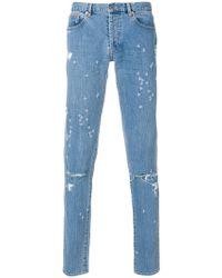 Givenchy - Designer Logo Jeans - Lyst