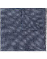 Dell'Oglio Canazei スカーフ - ブルー