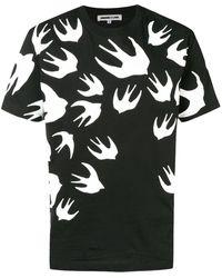 McQ - スワロ― プリント Tシャツ - Lyst