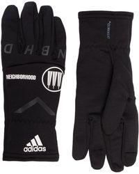 adidas X Neighborhood Black Gloves