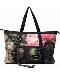 Eastpak X Aries Graphic-print Tote Bag - Black