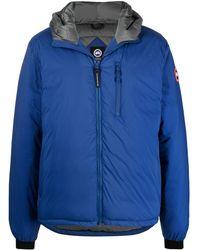 Canada Goose フーデッド パデッドジャケット - ブルー
