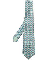 Hermès - Pre-owned Patterned Tie - Lyst
