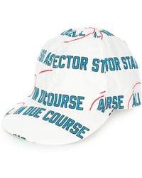 Sacai - Due Course Baseball Cap - Lyst