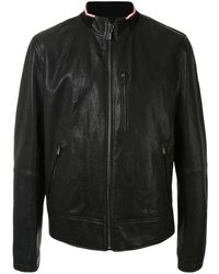 Bally Куртка С Отделкой В Рубчик - Черный
