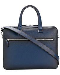 Ferragamo | Front Zipped Briefcase | Lyst