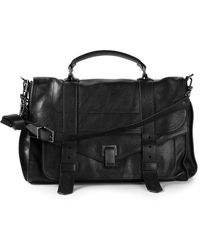 Proenza Schouler Ps1 Large - Black