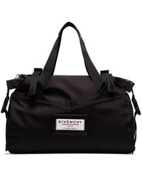 Givenchy Sac fourre-tout Downtown à patch logo - Noir