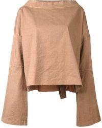 Andrea Ya'aqov - Bell Sleeve T-shirt - Lyst